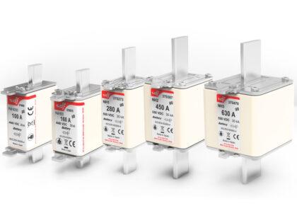 Fusibles protección de baterías